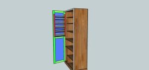 Pantry w: Door